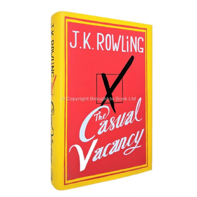 The Casual Vacancy Signed by J.K. Rowling First Edition Published Little, Brown 2012
